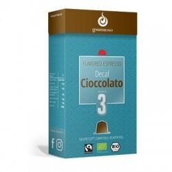Capsules Déca arôme Chocolat Gourmesso compatibles Nespresso ®