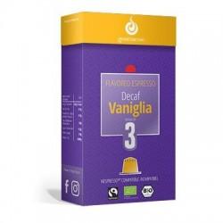Capsules Déca arôme Vanille compatibles Nespresso ® de Gourmesso