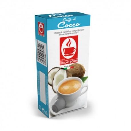 Cocco capsules Caffè Bonini compatibles Nespresso ®
