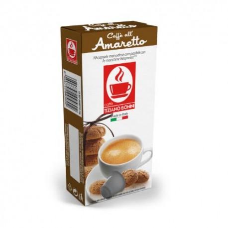 Amaretto capsules Caffè Bonini compatibles Nespresso ®