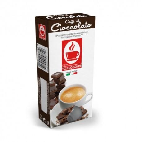 Cioccolato capsules Caffè Bonini compatibles Nespresso ®