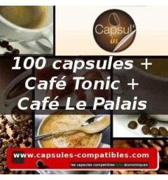 Pack Capsul'in 100 Le Palais + Tonic