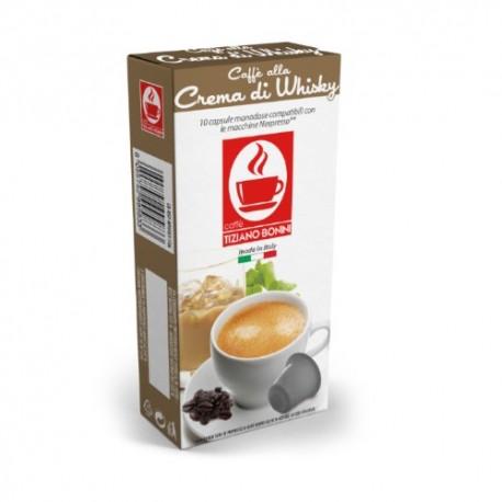 Capsules arôme Crème de Whisky Caffè Bonini compatibles Nespresso ®