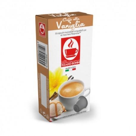 Capsules arôme Vanille Caffè Bonini compatibles Nespresso ®