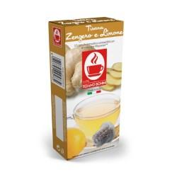 Capsules Gingembre citron compatibles Nespresso ® de Tiziano Bonini