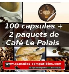 Pack Capsul'in 100 Le Palais x2