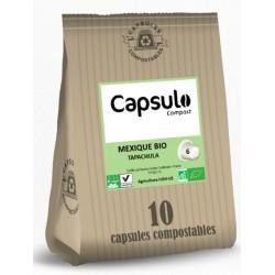 Capsules Mexique Tapachula Bio compatibles Nespresso ® de Capsulo