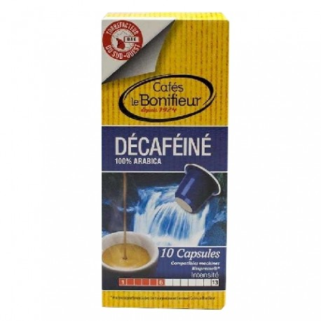 Le Bonifieur Capsules Déca compatibles Nespresso ®