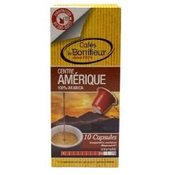 Capsules Centre Amérique compatibles Nespresso ® Le Bonifieur