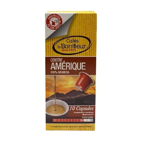 Coffee Bonifieur Capsules Nespresso compatible America Center