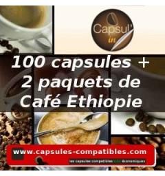 Pack Capsul'in 100 Ethiopie x2