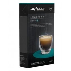 Forza Roma by Caffesso, 60 Nespresso® compatible capsules.