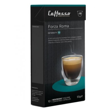 Caffesso Forza Roma 60 capsules compatibles Nespresso®