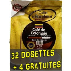 Compatible dishes Senseo ® Colombia de Cafés Le Bonifieur