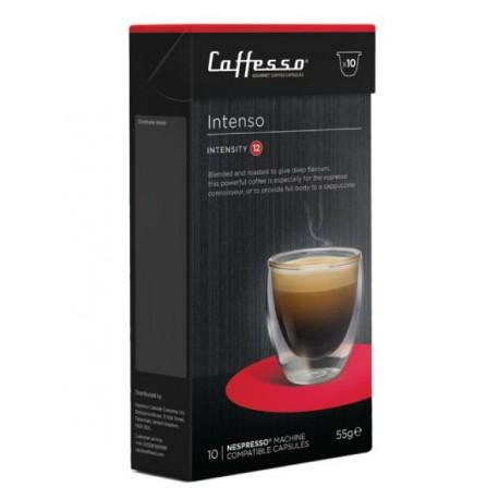 Intenso capsules compatibles Nespresso ® de la marque Caffesso