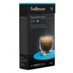 Caffesso Decafeinato capsules compatible Nespresso ®