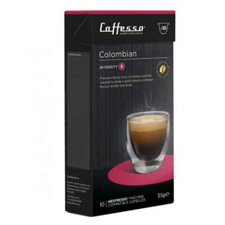 Colombian capsules compatibles Nespresso ® Caffesso
