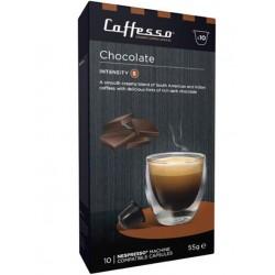 Capsules de café arôme Chocolat compatibles Nespresso ® Caffesso