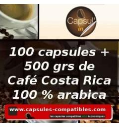 Pack Capsul'in 100 Costa Rica x2