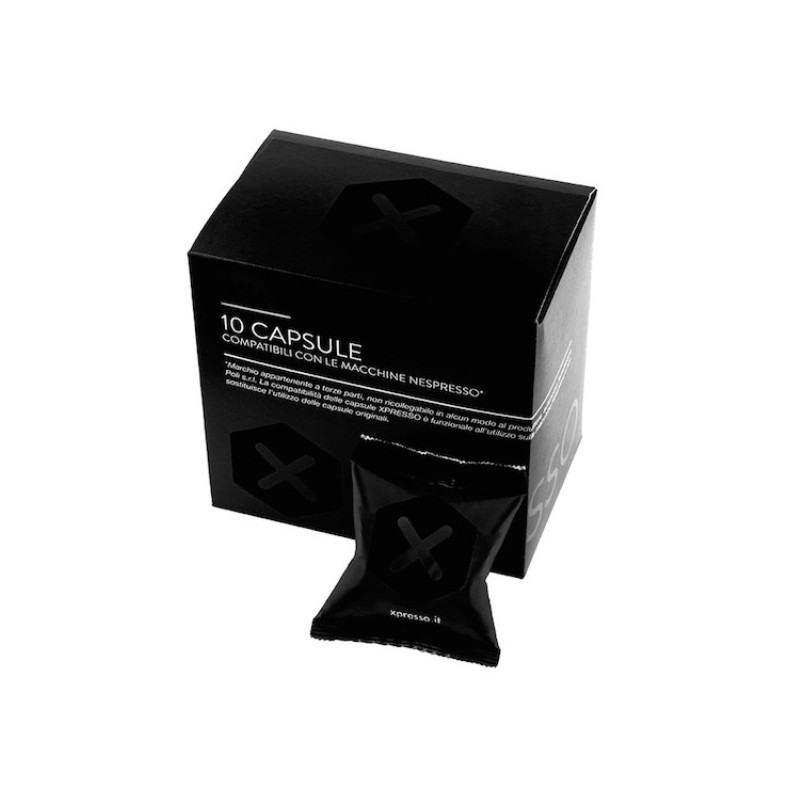 Xpresso Dark Capsules Compatible With Nespresso ® Coffee
