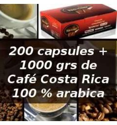 Pack capsul'in 200 Costa Rica x 4