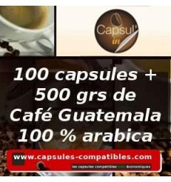 Pack Capsul'in 100 Guatemala x2