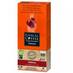 Jebena Ethical coffee capsules compatibles Nespresso ®