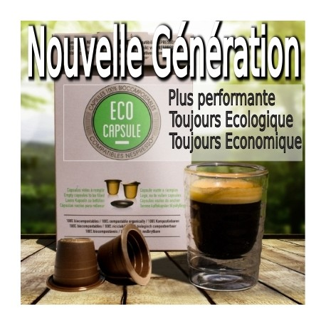 ECO CAPSULE capsules biodégradables