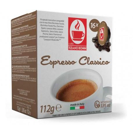 Compatible Capsules Caffè Bonini for Lavazza A Modo Mio ® Forte