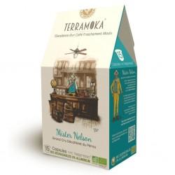 Mister Nelson capsules compatibles Nespresso ® Terramoka sans alu