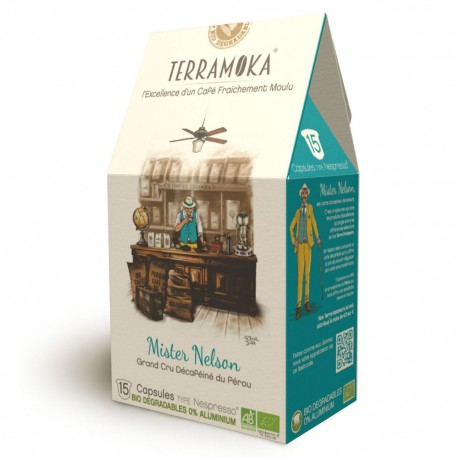 Arthur Nespresso ® compatible capsules Terramoka without alu