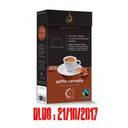 LOT DE 80 Capsules arôme Cannelle compatibles Nespresso ® de Gourmesso