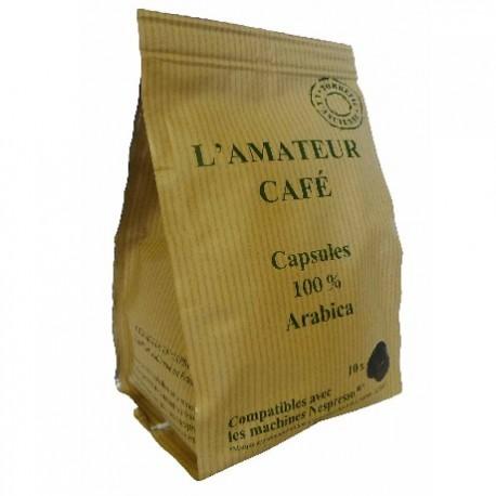 The capsules Amateur Café Le Temps des Cerises