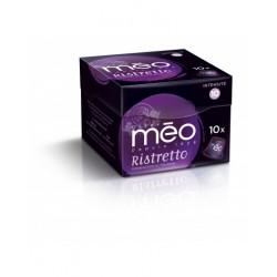 Ristretto capsules compatibles Nespresso ® des cafés Méo