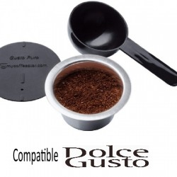 Gusto Puro capsules rechargeables compatibles Dolce Gusto ®