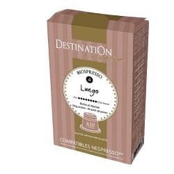 Capsules Biospresso compatibles Nespresso ® Lungo de Destination
