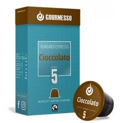 Capsules arôme Chocolat compatibles Nespresso ® de Gourmesso