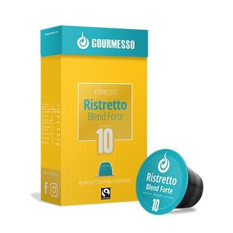 Ristretto Forte capsules Gourmesso compatibles Nespresso