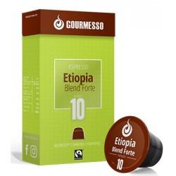 Etiopia Forte capsules Gourmesso compatibles Nespresso ®
