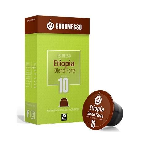 Etiopie Forte capsules Gourmesso compatibles Nespresso