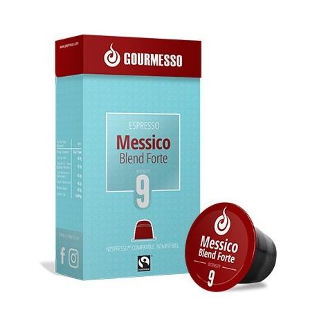 Messico Forte capsules Gourmesso compatibles Nespresso