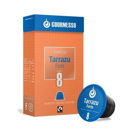 Tarrazu Forte capsules Gourmesso compatibles Nespresso