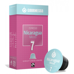 Nicaragua Mezzo capsules Gourmesso compatibles Nespresso ®