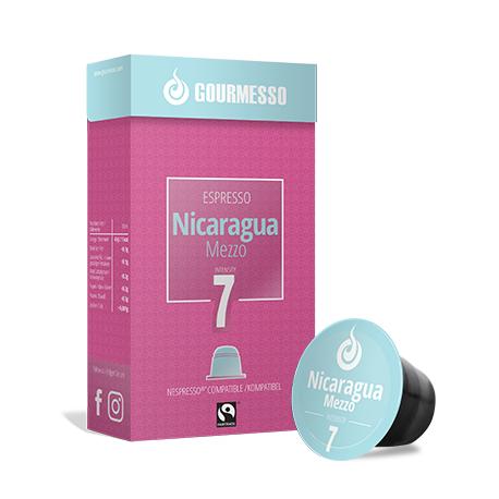 Nicaragua Mezzo capsules Gourmesso compatibles Nespresso