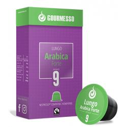 Capsules Lungo arabica forte compatibles Nespresso ® de Gourmesso