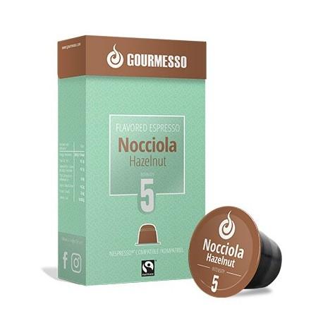 Capsules arôme Noisette compatibles Nespresso ® de Gourmesso