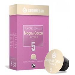 Capsules arôme Noix de Coco compatibles nespresso