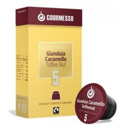 Capsules arôme noisette et caramel, compatibles nespresso ® de Gourmesso