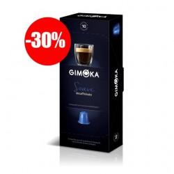 Capsules Déca compatibles Nespresso ® de la marque Gimoka