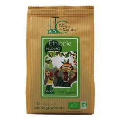 Nespresso ® Organic Ethiopia Mocha Capsules Le Temps des Cerises